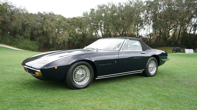 Maserati Ghibli Spyder SS from Farland Classic Restoration