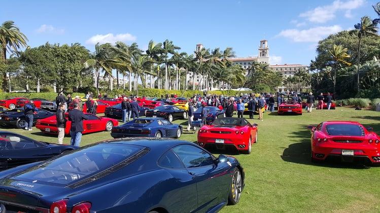 More modern Ferrari 458, Testarossa and more at Cavallino