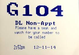 DMV tag