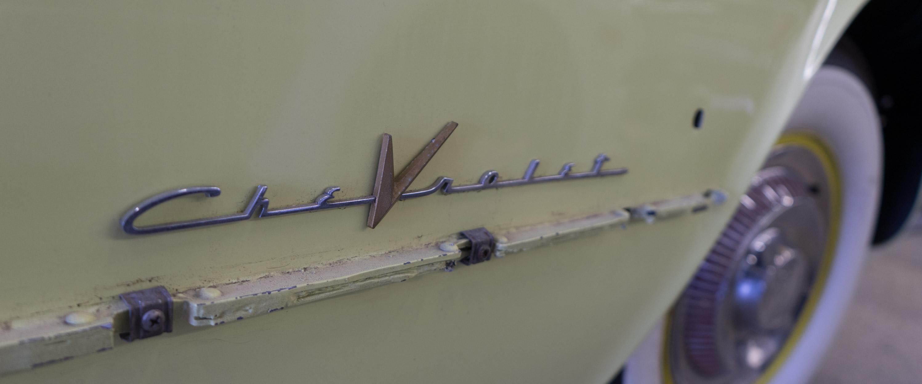 1955 Chevrolet 'Harvest Gold' Corvette - Restoration Update