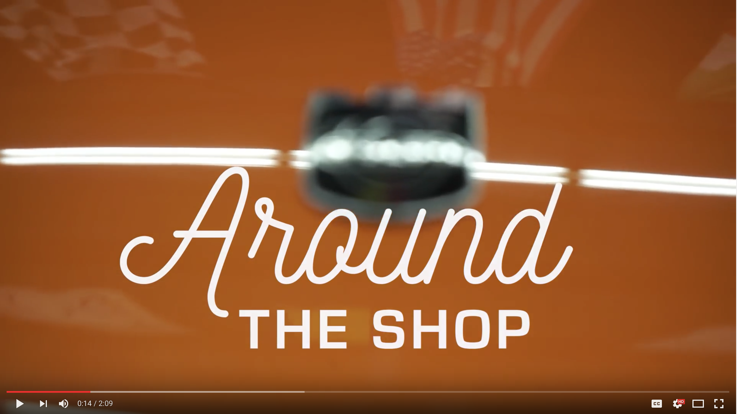 Our Latest Around the Shop Video