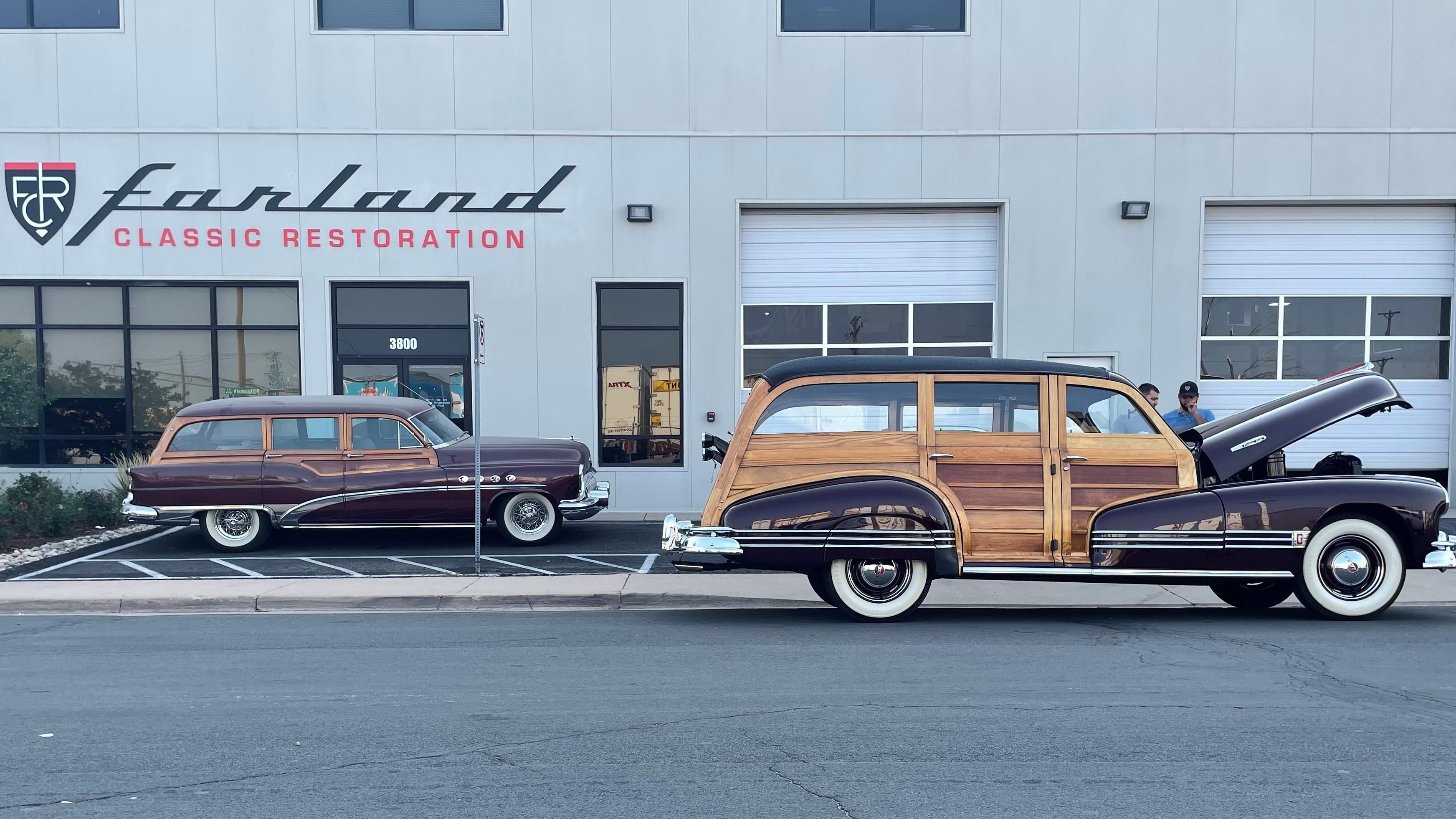 Farland Classic Restoration - Woodie Wagon
