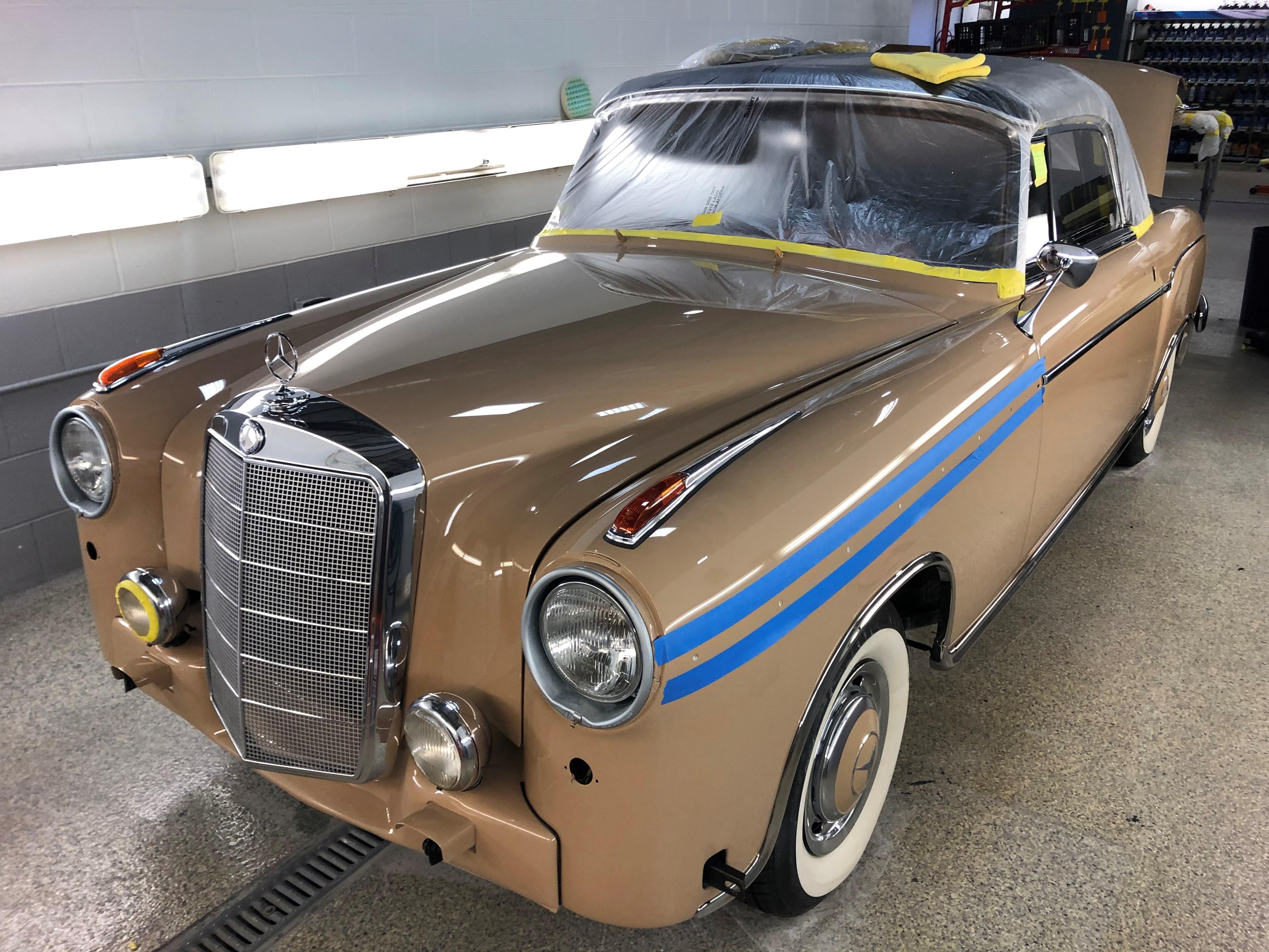 Mercedes-Benz 220S 1959 - Restoration Update